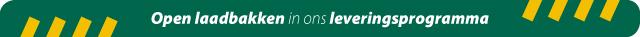 Open-laadbak-leveringsprogramma