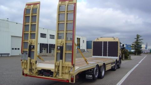 open laadbak op Scania