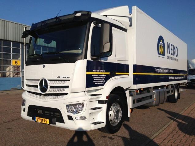 ISONORT koelvries carrosserie