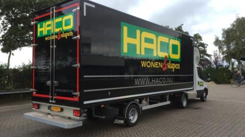 BE oplegger Haco Breda